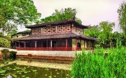 El jardín del administrador humilde, el jardín más grande de Suzhou fotografía de archivo libre de regalías