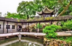 El jardín del administrador humilde, el jardín más grande de Suzhou imagen de archivo