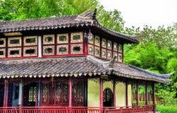El jardín del administrador humilde, el jardín más grande de Suzhou fotos de archivo