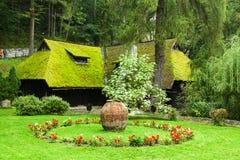 El jardín del castillo del salvado Foto de archivo