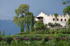 El jardín del sissi Imagen de archivo