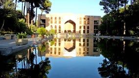 El jardín escénico del palacio de Chehel Sotoun almacen de video