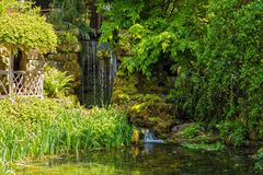 El jardín hundido, Hampton Court, Herefordshire, Inglaterra Fotos de archivo libres de regalías