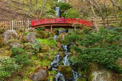 El jardín japonés conmemorativo de Fujita en Hirosaki, Japón fotografía de archivo