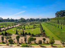 El jardín privado en Hampton Court Palace Imagen de archivo libre de regalías