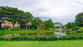 El jardín verde de malika124 foto de archivo libre de regalías