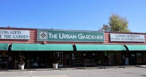 El jardinero urbano, Memphis, TN Fotos de archivo libres de regalías