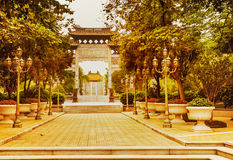 El jardín de Baomo en Guangzhou, China Imágenes de archivo libres de regalías