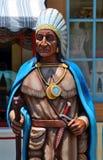 El jefe indio Foto de archivo