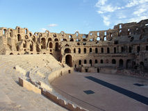 El Jem amphitheatre Stock Photos
