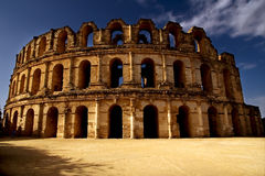 El jem arena Royalty Free Stock Images
