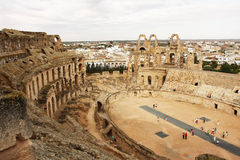 El Jem Arena - Tunisia Royalty Free Stock Photo