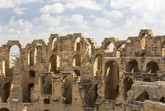 EL Jem Coliseum Imagem de Stock Royalty Free