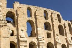 EL Jem Coliseum Immagini Stock