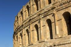 EL Jem Coliseum Immagine Stock
