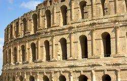 EL Jem Coliseum Fotos de Stock Royalty Free