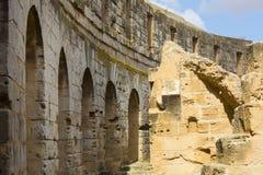 EL Jem Coliseum Imagem de Stock