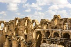 EL Jem Coliseum Imagens de Stock