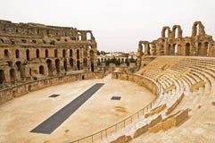 EL Jem Colosseum Fotografie Stock