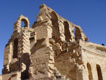 El Jem colosseum Royalty Free Stock Photography