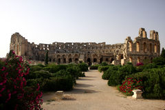 El jem colosseum Royalty Free Stock Image