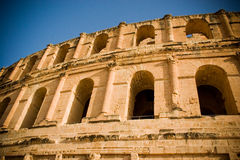 El Jem Colosseum Close Up Royalty Free Stock Photo