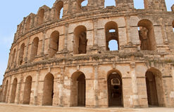 El Jem Colosseum, Tunisia Royalty Free Stock Photos