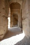 El Jem - Roman coliseum Stock Photo