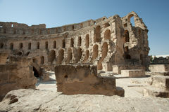El Jem - Roman coliseum Royalty Free Stock Image