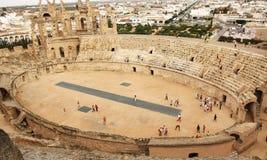 EL Jem - Tunísia Imagens de Stock Royalty Free