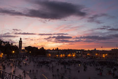 El Jemaa el fna sqare, Marrakesh Stock Photography