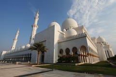 El jeque Zayed Grand Mosque Imágenes de archivo libres de regalías