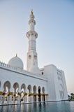 El jeque Zayed Grand Mosque fotografía de archivo libre de regalías