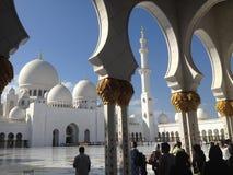 El jeque Zayed Grand Mosque fotos de archivo libres de regalías