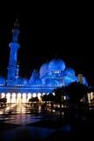 El jeque zayed la mezquita en Abu Dhabi, UAE, Oriente Medio imagen de archivo
