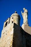 El Jesús de la bahía de San Sebastian Fotografía de archivo libre de regalías