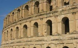 EL Jim Amphitheatre, Tunísia fotografia de stock royalty free