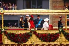 El jubileo de diamante de la reina Imagen de archivo libre de regalías