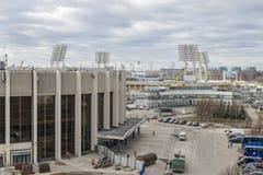 El jubileo se divierte el palacio, estadio de Petrovsky Imagen de archivo libre de regalías