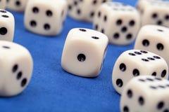El juego corta en cuadritos Fotos de archivo