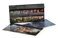 El juego de Royal Mail de tronos termina el paquete de la presentación Foto de archivo libre de regalías