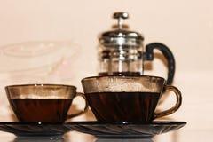 El juego de té Fotos de archivo libres de regalías