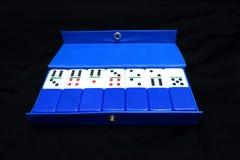 El juego del dominó imagen de archivo libre de regalías