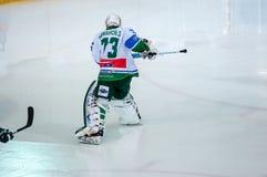 El juego del hockey Fotos de archivo