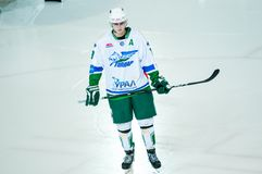 El juego del hockey Foto de archivo