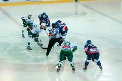 El juego del hockey Imagen de archivo libre de regalías