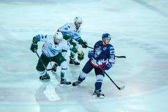 El juego del hockey Imagen de archivo