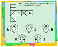 El juego educativo para los niños, juego del índice de inteligencia, práctica pregunta la hoja de trabajo para la educación y la  imágenes de archivo libres de regalías