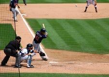 El juego el 11 de julio de 2010 de los tigres, drenó Butera Fotografía de archivo libre de regalías