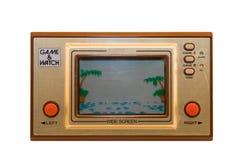 El juego retro de la consola fotos de archivo